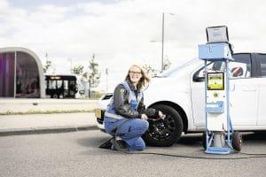 Groningse P+R-Gebruikers besparen 5500 KG aan CO2-uitstoot met juiste bandenspanning